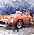 1953-1955 Ferrari 500 Mondial 1000 Miglia by Yuriy Shevchuk