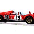 Ferrari 512s Mario Andretti 1970 by Ugo Capeto