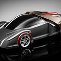 Ferrari Concept Black by Alice Kent