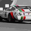 Ferrari Daytona 365 Gtb4 - Italian Flag Livery by Andrea Mazzocchetti