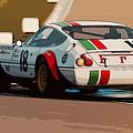 Ferrari Daytona - Italian Flag Livery by Andrea Mazzocchetti