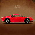 Ferrari Dino 246 GT by Mark Rogan
