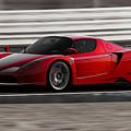Ferrari Enzo - Rosso Corsa by Andrea Mazzocchetti