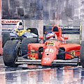 1991 Ferrari F1 Jean Alesi Phoenix Us Gp Arizona 1991 by Yuriy Shevchuk