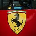 Ferrari F1 Sidepod Emblem by Paolo Govoni