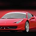 Ferrari F458 'iconic Italian Sports Car' by Dave Koontz