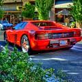 Ferrari From Afar by Randy Wehner Photography