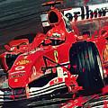 Ferrari - Michael Schumacher  by Afterdarkness
