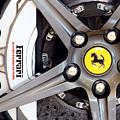 Ferrari Wheel Op 121915 by Rospotte Photography