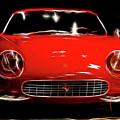 Ferrari by Wingsdomain Art and Photography