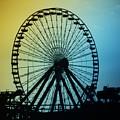 Ferris Wheel - Wildwood New Jersey by Bill Cannon