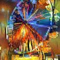 Ferris Wheel 1 by Patty Vicknair