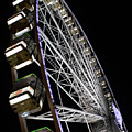 Ferris Wheel At Night 16x20 by Leah Palmer