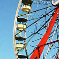 Ferris Wheel Closeup by Susan Savad
