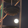 Ferris Wheel Moon by Robert Banach