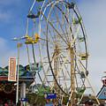 Ferris Wheel Santa Cruz Boardwalk by Jason O Watson