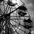 Ferris Wheel Sun by Lee Webb