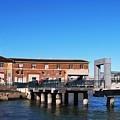Ferry Building And Pinnacle Building - San Francisco Embarcadero by Matt Harang