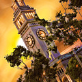 Ferry Building Golden Sun by Blake Richards