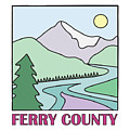 Ferry County II by Sarah Lawrence