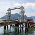 Ferry Dock And Pier At Porteau Cove by Jit Lim