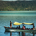 Ferry - Lago De Coatepeque - El Salvador I by Totto Ponce