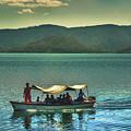 Ferry - Lago De Coatepeque - El Salvador by Totto Ponce