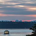 Ferry Tillikum At Dawn by E Faithe Lester