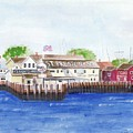 Ferry To Greenport by Sheryl Heatherly Hawkins