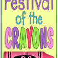 Festival Of The Crayons Sign by Becky Titus