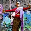 Festive Folk Dance by Ian Gledhill