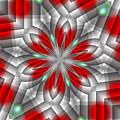 Festive Fractal by Michelle McPhillips