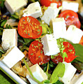 Feta Cheese Salad by Jean Gill