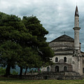 Fethiye Camii Mosque On A Cloudy Day by Jaroslaw Blaminsky