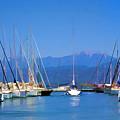 Fethiye Harbour by Rob Tullis
