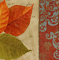 Feuilles II by Mindy Sommers