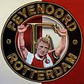 Feyenoord Rotterdam Painting by Paul Meijering