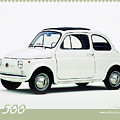 Fiat 500 by Dorothy Binder