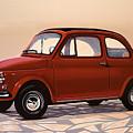Fiat 500 1957 Painting by Paul Meijering