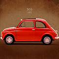 Fiat 500 R 1972 by Mark Rogan