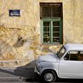 Fiat 600. Belgrade. Serbia by Juan Carlos Ferro Duque