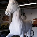 Breeders Cup Fiberglass Horse by Tish Wynne