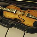 Fiddle In Case by Jack Dagley