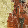 Fiddle In Grunge Style by Michal Boubin