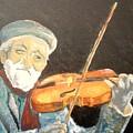 Fiddler Blue by J Bauer