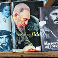 Fidel At The Used Book Sellers Market by Robin Zygelman