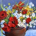Field Bouquet by Marta Styk