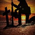 Field Cross by Carolyn Marshall