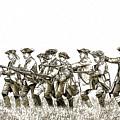 Field Of Battle Soldier Sketch by Randy Steele