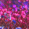 Field Of Dreams Abstract by Sharon Talson